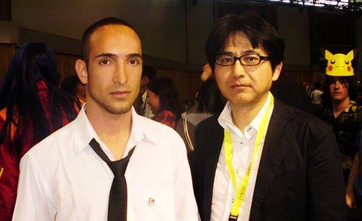 Sadamoto et moi